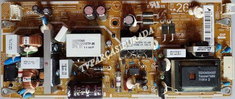 BN44-00368B, BN44-00368A, BN44-00368C, REV-1.2, 126HD-AHS, Samsung LE26C500D1W, Power Board, Besleme, T260HA01-DB