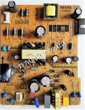 VESTEL - 17IPS12, 23518326, Vestel 49FD7400, Power Board, Besleme, VES490UNDS-2D-N13