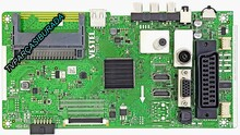 VESTEL - 17MB140, 23547179, Vestel 43FB500, Main Board, Ana Kart, Ves430UNDB-2B-N12, Vestel Display