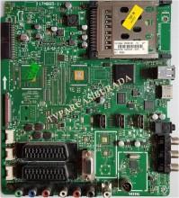 VESTEL - 17MB65-1, 23030186, 23030187, Vestel 42PF5011, Main Board, Ana Kart, LC420WUN-SCB1