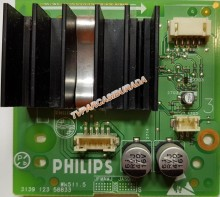PHİLİPS - 3139 123 58833, Philips 20PF4121/58, AUDIO Board, LC201V02-SDB1