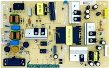 PHİLİPS - 715GA052-P02-008-003M, PLTVJQ361XAD9, Philips 43PUS7505/62, Power Board, TPT430H3-QUBH10.K