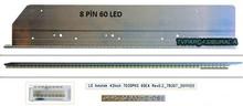 AU Optronics - 74.42T23.001-2-DS1, LG Innotek 42İnch 7030PKG 60EA Rev0.2, AU Optronics, T420HVN01.0, T420HVN01.1, LG 42LS570S, LG 42LS575S, Led Bar, Panel Ledleri, LED Backlight