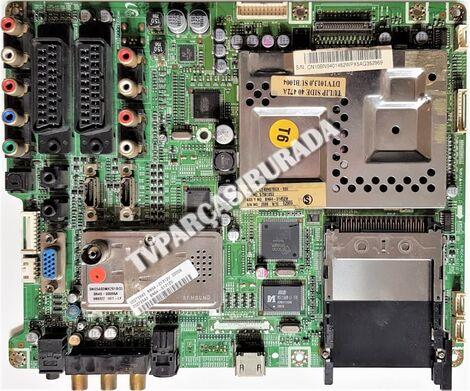 BN41-00813E, BN94-01452W, Samsung LE40N87BDX/XFE, Main Board, Ana Kart, V400H1-L01