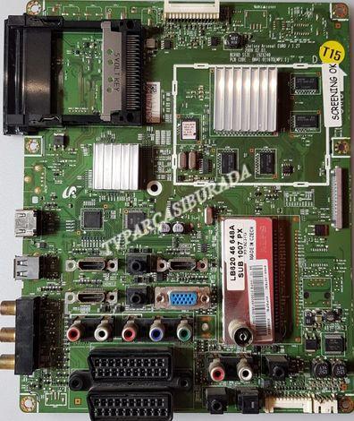 BN41-01167B, MP1.1, BN94-02763C, Samsung LE46B20R3P, Main Board, Ana Kart, T460HW03 V.5
