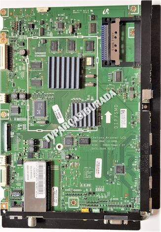 BN41-01190B, BN94-02706X, Samsung UE46B7000WW, Main Board, Ana Kart, T460FBE1-DB