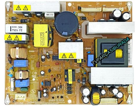 BN44-00155A, Samsung LE32A51AP2RXXH, Samsung LE32A51, POWER BOARD, Besleme, T315HW01, AU Optronics