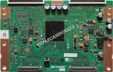 SHARP - CPWBX, RUNTK 4323TP, ZM, LG 32LD550-ZC, Tcon Board, LK315D3LA57