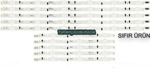 SAMSUNG - D4GE-400DCB-R1, D4GE-400DCA-R1, BN96-30450A, BN96-30449A, CY-GH040CSLV2H, CY-GH040CSLV1H, CY-JGJ040BGLV9H, UE40H6270, UE40H6470, UE40H5570, UE40H6290, Led Bar, Panel Ledleri, Backligth Strip, Panel Led backlight