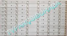 SANYO - HKC-500W-TE01A-50T9-MCPCB, 6003100094, HKC:605007001 BIN:KFDX, Sanyo LE127S13SM, T500HVN01.0, Led Bar, Panel Ledleri, Backligth Strip