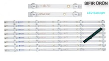 AWOX - K550WDC1 A1, 4708-K55WDC-A2113N013, TELEFOX 55TFH5510/4K/S, PHILIPS 55PUF6022/T3, AWOX U5600STR/4K/S, K550WDC2, Led Bar, Panel Ledleri