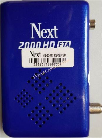 NEXT 2000 HD FTA UYDU ALICI TKGS 2019, NEXT YE-32017, Next YE-320I7, RECEIVER, ST3151A05-9