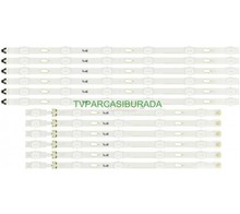 SAMSUNG - S_5U75_48_FL_R6_REV1.4_150514_LM41-00121G, S_5U75_48_FL_L5_REV1.4_150514_LM41-00121H, BN96-34794A, BN96-34793A, CY-GJ048HGLV4H, Samsung UE48JU6070, Samsung UE48JU6070U, Led Bar, Panel Ledleri