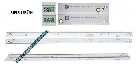 SAMSUNG UE55MU7000, Samsung UE55MU9000T, Samsung UE55MU8000T, Samsung UE55MU9500T, V7MU-550SMA-R0, V7MU-550SMB-R0 , CY-SM055FLLV3H, BN96-42350A, BN96-42349A, Led Bar, Panel Ledleri