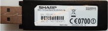 SHARP - SHARP 802.11 Dual Band WLAN Adapter, KI-OUA003WJQZ, WN8522D 7-JU, WİFİ ADAPTÖR