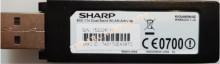 SHARP - SHARP 802.11 Dual Band WLAN Adapter, KI-OUA003WJQZ, WN8522D 7-JU, WİFİ ADAPTÖR