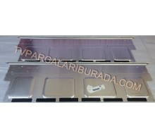 INNOLUX - V650DK1-KS2-TLEM03, V650DK1-KS2-TREM03, V650DK1-KS2 REV.F8, Philips 65PUK7120/12, Panel Ledleri, Backligth Strip, INNOLUX
