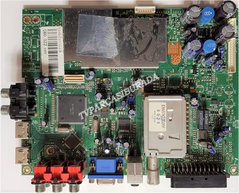 YCA190R-3, GBD 3ZZ, GBD3ZZ, Grundig 82-503 B HD, Main Board, Ana Kart, T315XW02 V.L