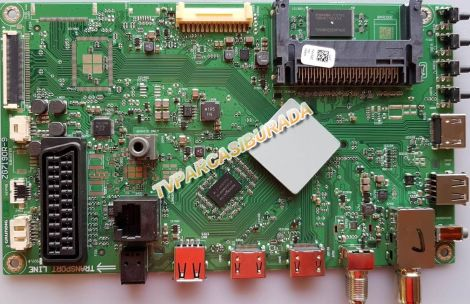 ZG7190R-9, T4V5ZZ, Grundig 32VLE 6730 BP, Main Board, Ana Kart, HV320DFHB-N00