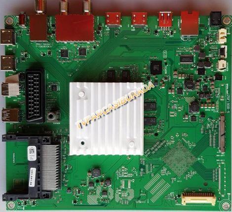 ZGF190R-5, PUS9ZZ, Grundig 49VLX8650 BP, Main Board, Ana Kart, LC490EQY-SHM1